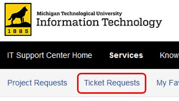 Choose Ticket Requests
