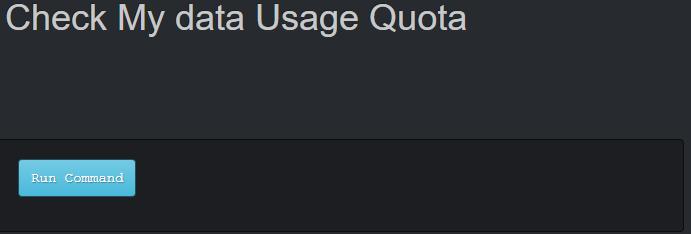 Check my data usage quota