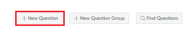 New question button