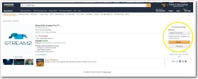 Amazon App Download Screen