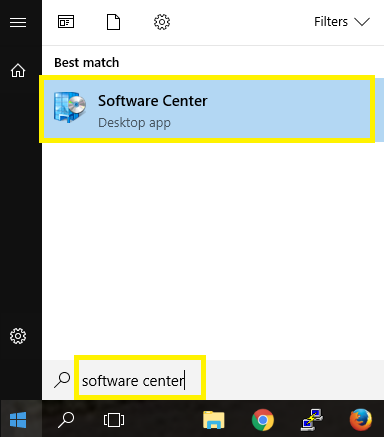 Software Center app