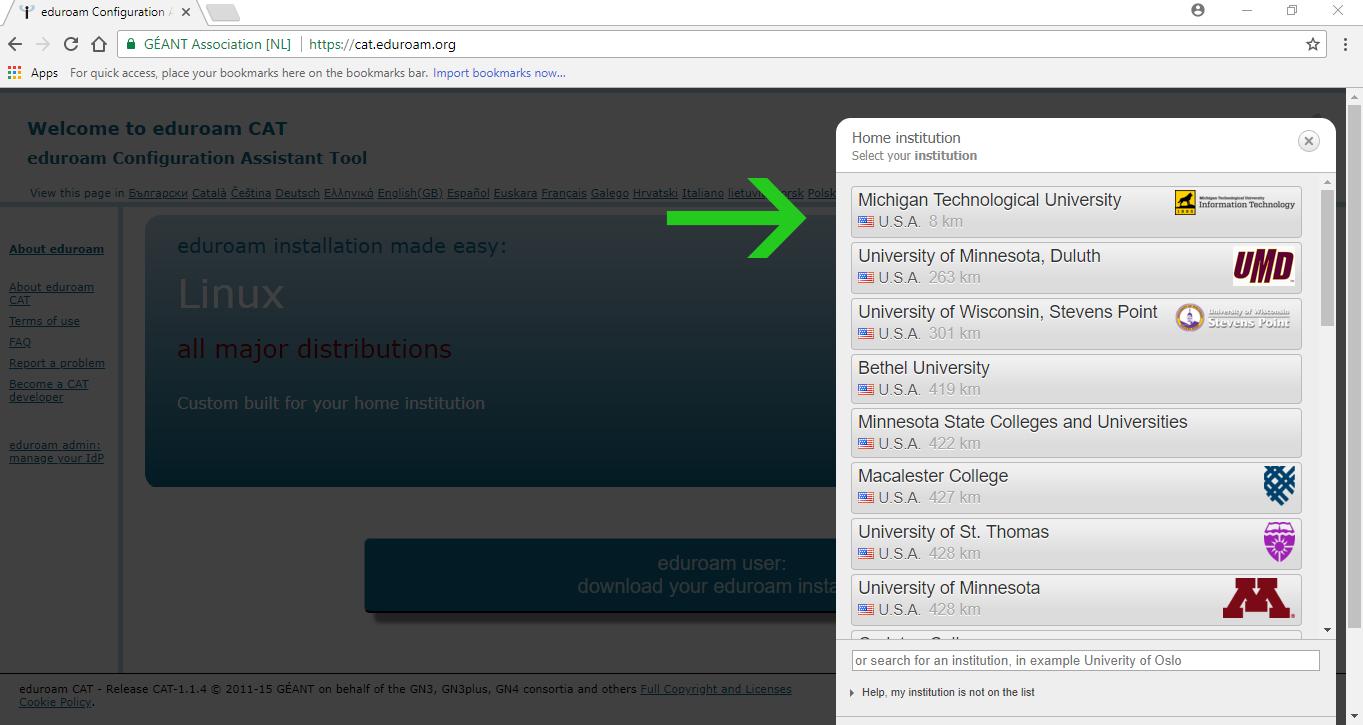 select Michigan Tech University