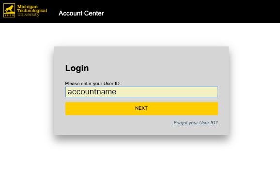 enter ISO credentials