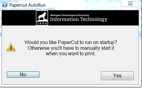 choose to auto or manually run paper cut