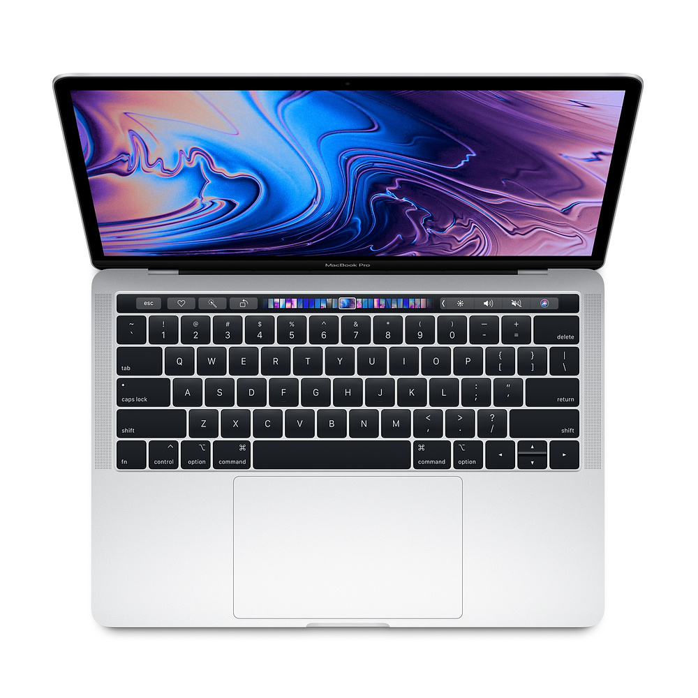 Macbook Pro with Touchbar Silver